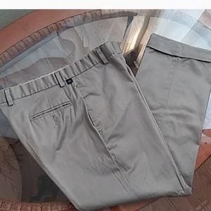 Dockers Light Gray Casual Khaki Pants